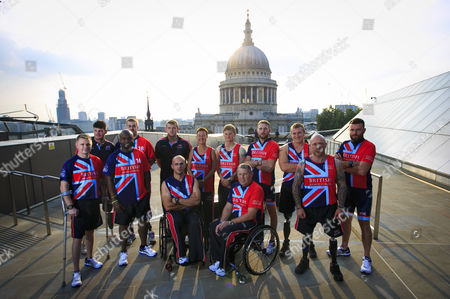 Editorial photo of Invictus Games Photocall, London, Britain - 07 Sep 2014