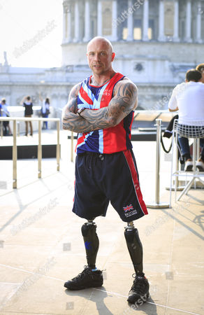 UK Armed Forces Team Captain Micky Yule pictured ahead of the Invictus Games, taking place in London 11-14 September 2014. The team has been trained and selected by Help for Heroes  Micky Yule, Powerlifting: Micky Yule, 35, who lives in Lincoln, was a staff sergeant serving with the Royal Engineers when he stood on an IED while on tour in Afghanistan in 2010. He lost both his legs that day. Power lifting has played a massive part in MickyÕs rehabilitation and recovery process. Micky competed in power lifting at the Commonwealth Games in Glasgow earlier this year and came in fourth place.