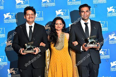 Chaitanya Tamhane honored as Lion of the Future, Geetanjali Kulkarn, Vivek Gomber
