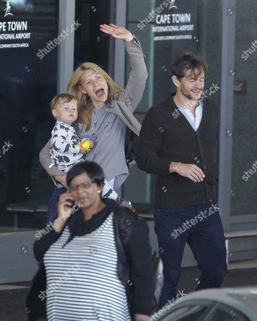 Claire Danes, Hugh Dancy and son Cyrus Dancy