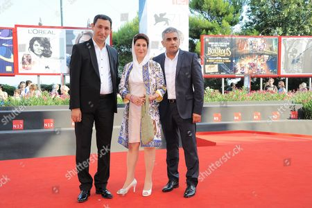 Mushfiq Hatamov, Fatemeh Motamed Arya and Elchin Musaoglu