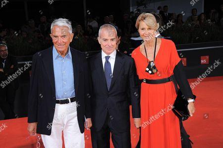 Carlo Rossella, Giampaolo Letta and wife
