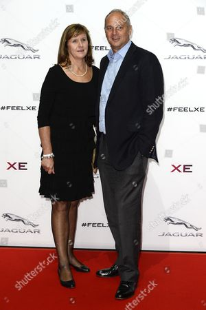 Ann Redgrave and Sir Steve Redgrave
