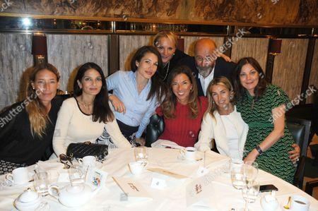 Sarah Murray, Yasmin Mills, Lauren Kemp, Caroline Shapiro, Heather Kerzner, Richard Young, Assia Webster and Susan Young