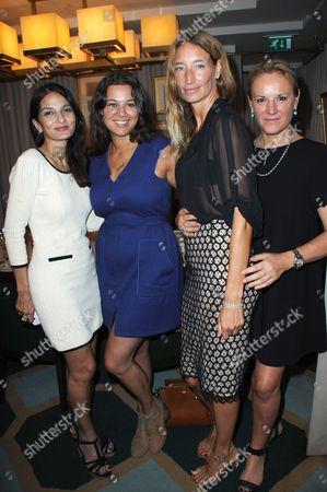 Yasmin Mills, Hannah Young, Sarah Murray and Caroline Shapiro