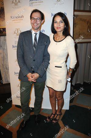 Stock Picture of Josh Spero and Yasmin Mills