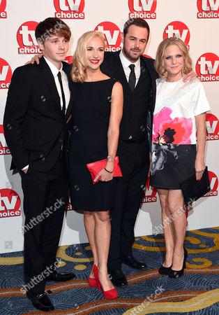 Sam Strike, Maddy Hill, Danny Dyer and Kellie Bright