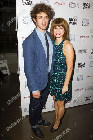 Ben Ockrent (Author) and Jemima Rooper (Sharon)