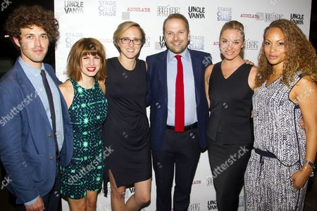Ben Ockrent (Author), Jemima Rooper (Sharon), Tamara Harvey (Director), Nicholas Burns (Jimmy), Tamzin Outhwaite (Andrea) and Angela Griffin (Caroline)