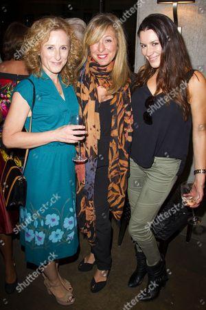 Nicola Stephenson, Tracy-Ann Oberman and Kate Magowan