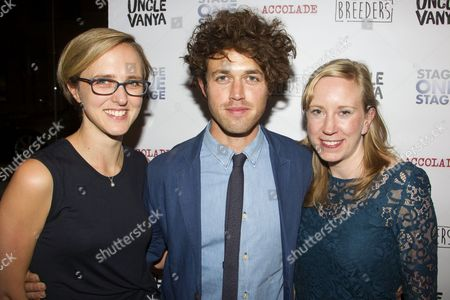 Tamara Harvey (Director), Ben Ockrent (Author) and Vicky Graham (Producer)