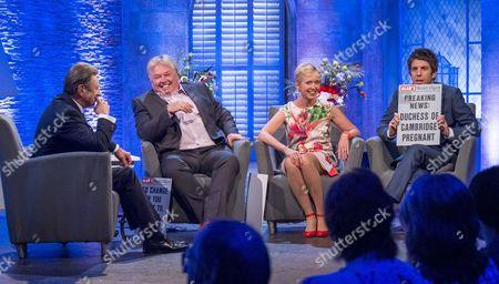 Alan Titchmarsh with Nick Ferrari, Rosie Millard and Andy Goldstein