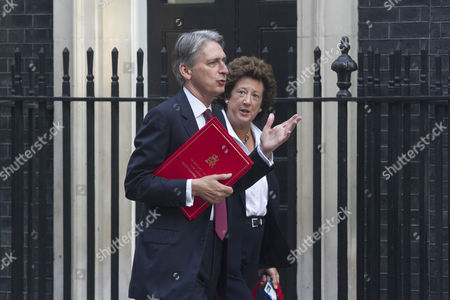 Philip Hammond and Joyce Anelay