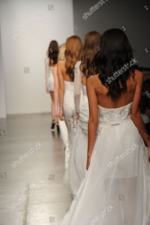 Editorial picture of Steph Audino show, Spring Summer 2015, Mercedes-Benz Fashion Week, New York, America  - 07 Sep 2014