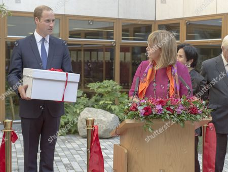 Editorial picture of Prince William opening The Dickson Poon University of Oxford China Centre Building, Britain - 08 Sep 2014