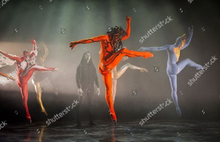 Costumes painted by Chris Ofili (Turner prize winner) Choreographed by Aakash Odedra David Donelley