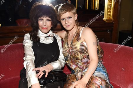Fenella Fielding and Robyn