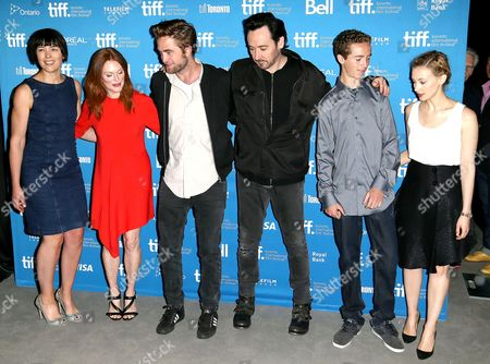 Olivia Williams, Julianne Moore, Robert Pattinson, John Cusack, Evan Bird and Sarah Gadon
