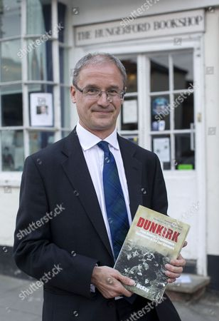 Editorial picture of Sinclair McKay 'Dunkirk' book promotion at the Hungerford Book Shop, Britain - 09 Sep 2014