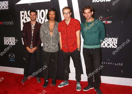 Alex Tanas, Mark Pellizzer, Nasri Atweh, and Ben Spivak from the band MAGIC!