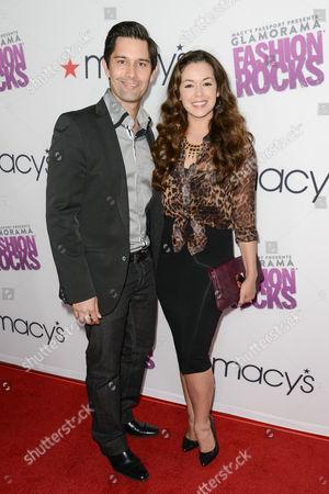 Shane Aaron and Teresa Castillo