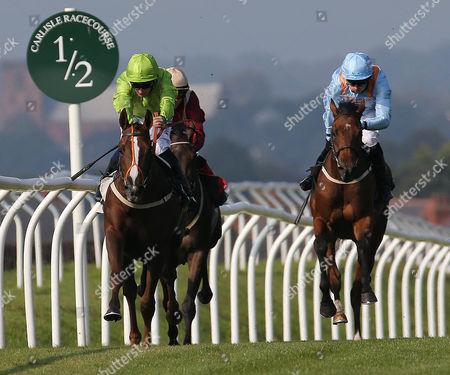 BRIGHT John Flaherty (P.J. McDonald) (legt green) wins at Carlisle