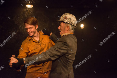 Editorial photo of 'Land of Our Fathers' play performed at the Trafalgar Studios, London, Britain - 08 Sep 2014