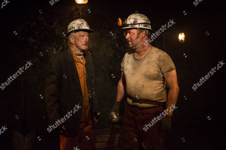 Stock Picture of Clive Merrison (Bomber) and Patrick Brennan (Chopper)