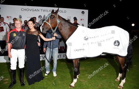Editorial photo of Chovgan Twilight Polo Gala and charity auction at Ham Polo Club, Richmond, Surrey, Britain - 10 Sep 2014