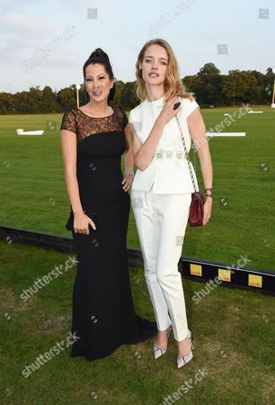Stock Picture of Princess Princess Tamara Czartoryska and Natalia Vodianova