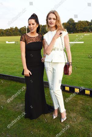 Princess Princess Tamara Czartoryska and Natalia Vodianova