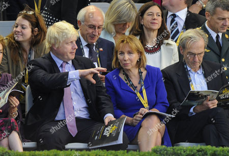 Mayor of London, Boris Johnson and Sarah Sands
