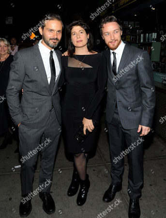 Ned Benson, guest and James McAvoy