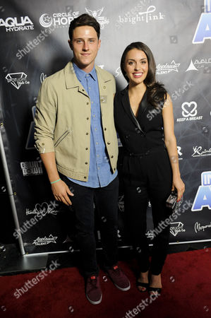 Shane Harper and Kathryn McCormick