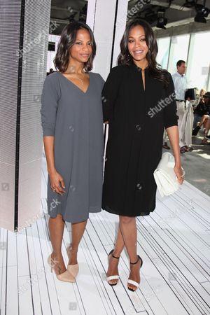 Cisely Saldana and Zoe Saldana