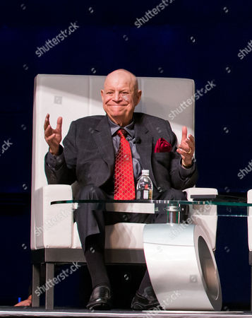Editorial picture of Regis Philbin and Don Rickles at Weldbend-IPD Breakfast at Bellagio, Las Vegas, America - 10 Sep 2014