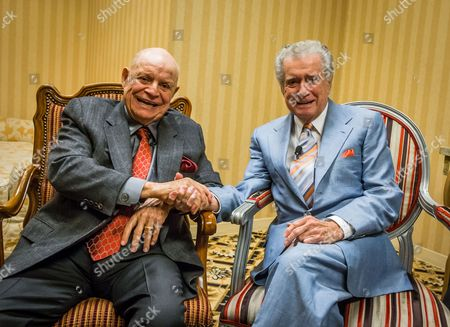 Stock Image of Don Rickles and Regis Philbin
