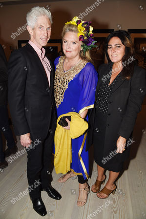 Richard Buckley, Katrine Boorman (c), Solange Azagury-Partridge (r)