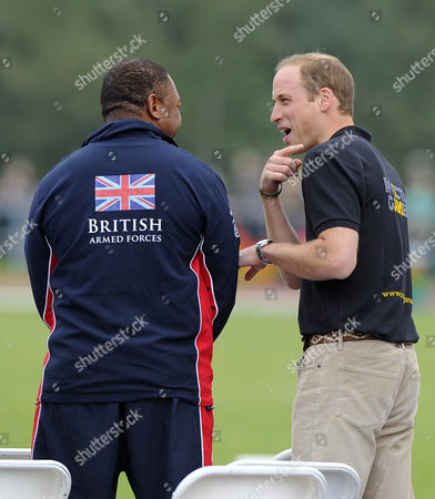 Derek Derenalagi speak with Prince William