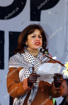Stock Image of Ghada Karmi of Palastine Solidarity