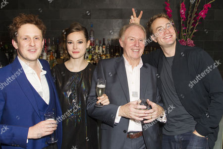 Richard Goulding (Harry), Lydia Wilson (Kate), Tim Pigott-Smith (Charles) and Oliver Chris (William)