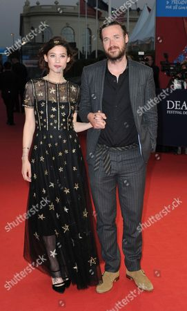 Astrid Berges-Frisbey and Mike Cahill