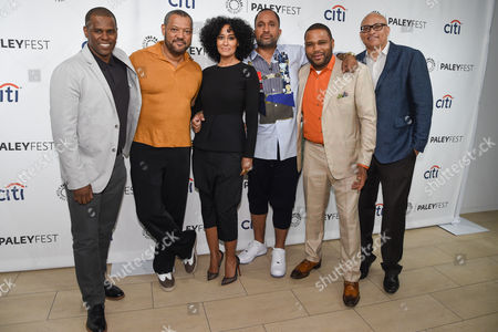 Brian Dobbins, Laurence Fishburne, Tracee Ellis Ross, Kenya Barris, Anthony Anderson, Larry Wilmore