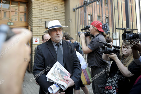 Henke Pistorius leaves the Pretoria High Court