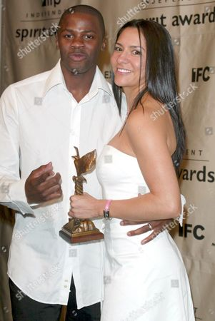 Derek Luke and wife Sophia Adella Hernandez