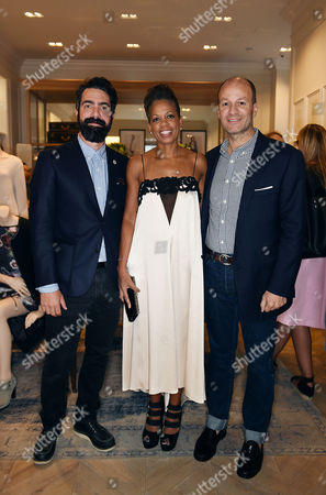 Editorial image of Club Monaco Store Launch Party, London, Britain - 12 Sep 2014