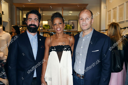 Editorial picture of Club Monaco Store Launch Party, London, Britain - 12 Sep 2014