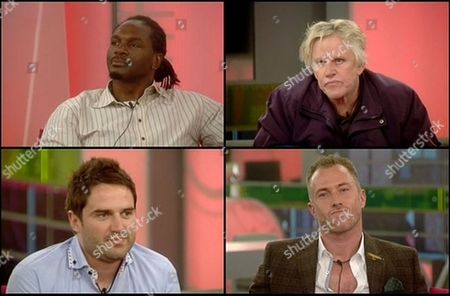 George Gilbey finishes fourth. Audley Harrison, Gary Busey and James Jordan are the final three