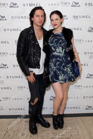 Carl Barat and Edie Langley