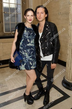 Edie Langley and Carl Barat